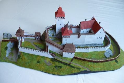 hrad Buben v 15. století