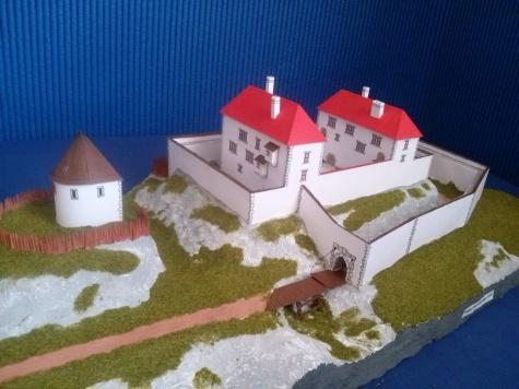 hrad Rabštejn u Dukovan