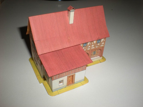 Hrázděný dům z Děčínska