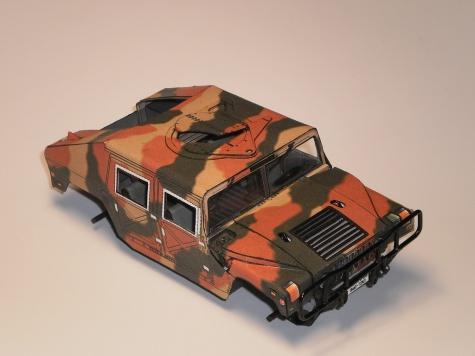 HUMWEE - Bojové vozidlo armády USA