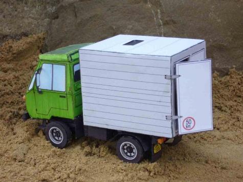IFA Multicar M25+vlastní úprava