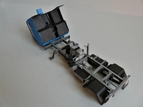 IFA Multicar 25 trojstranny sklapac