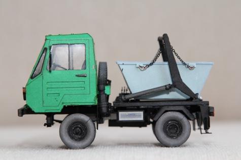 IFA Multicar IFA MULTICAR 25 - ramenový nosič kontejnerů