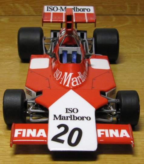 Iso-Marlboro FW02, Richard Robarts, Swedish GP 1974