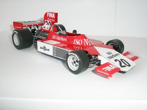 ISO MARLBORO FW02-1974 R.Robarts Swedish GP
