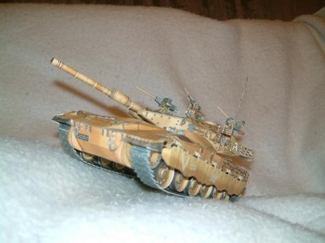 Izraelský tank Merkava