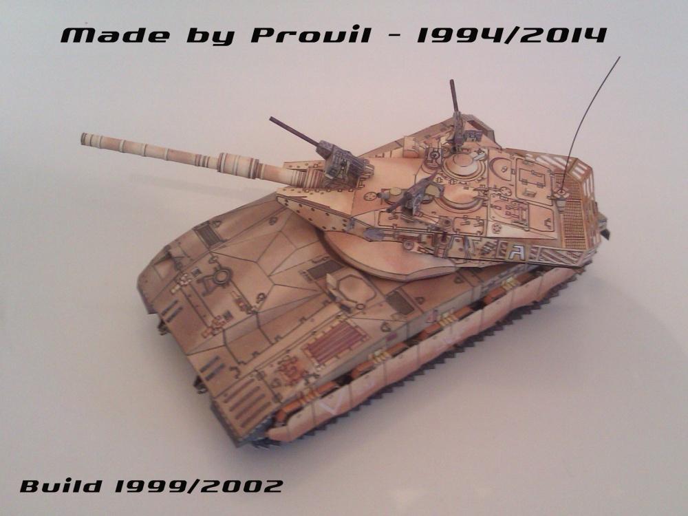 Izraelský bitevní tank Merkava II