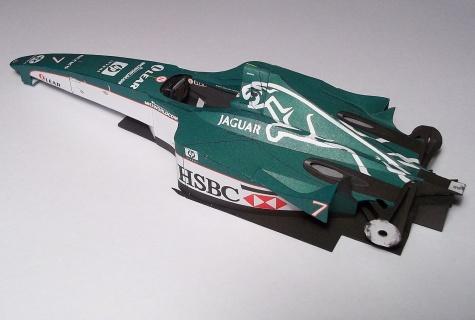 Jaguar R1 - Eddie Irvine (2000)