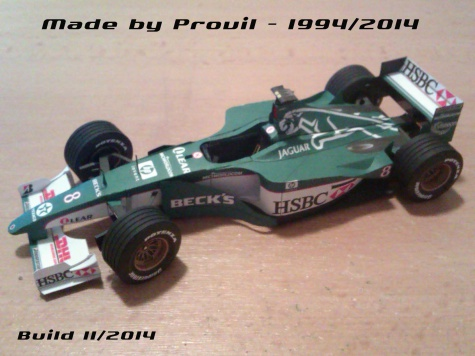 Jaguar R1 - (8) Johnny Herbert