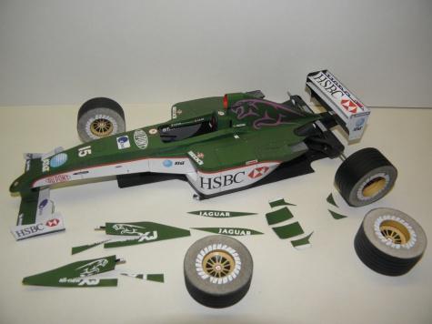 Jaguar R4, 2003, A. Pizzonia, Monaco GP