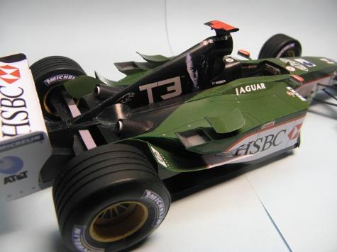 Jaguar R4, 2003, M. Webber, GP Anglie