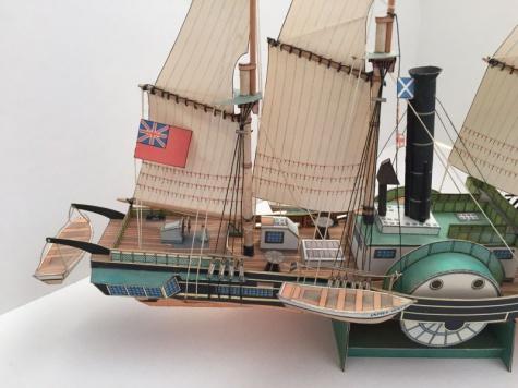 Parní plachetnice James Watt