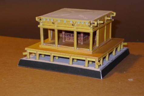 Japan Chuson-ji Temple Konjiki-do (Golden Hall)