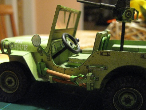Jeep Willys MB s přívěsem