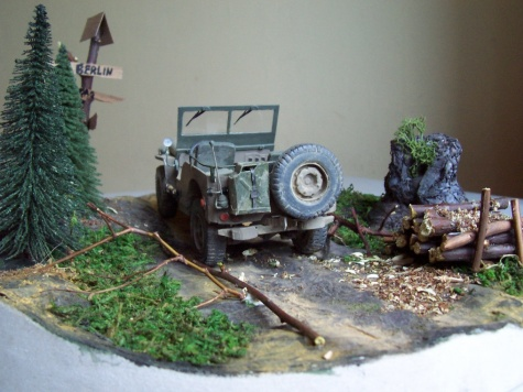 Jeep Willys                                        Nemecko, Torgau 25. apríl 1945