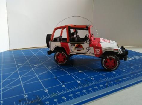 Jeep Wrangler Jurassic Park
