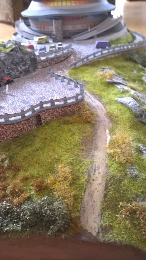 Vysílač Ještěd a vrchol hory