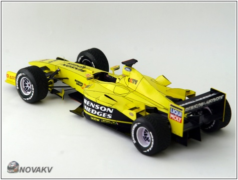 Jordan EJ13 Ford, Giancarlo Fisichella, GP Brazílie 2003