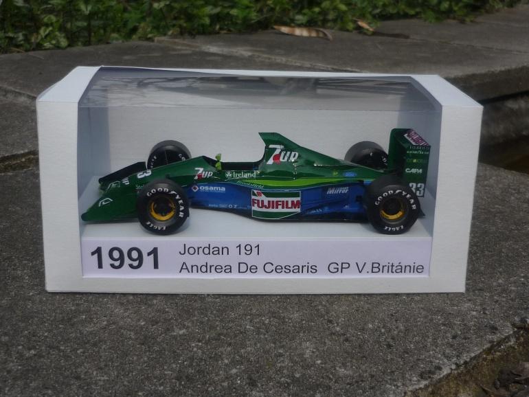Jordan 191 - Andrea De Cesaris