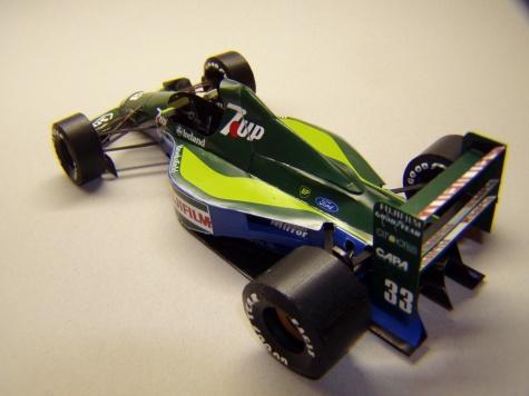 Jordan 191, 1991, A. De Cesaris