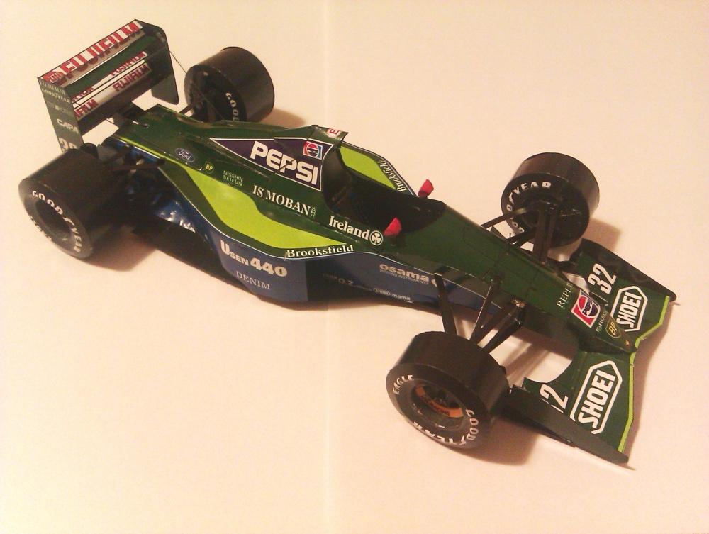 Jordan 191, 1991 Alessandro Zanardi