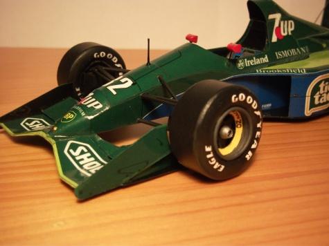 Jordan 191, Michael Shumacher, GP Belgium, 1991