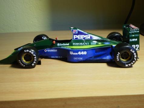 Jordan 191 A. Zanardi ,Suzuka 1991