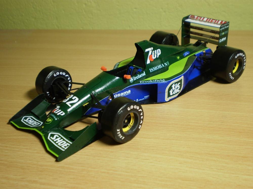 Jordan 191 M. Schumacher, Belgie 1991