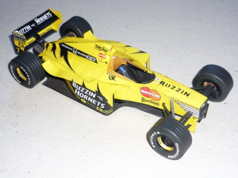 Jordan 199 - Damon Hill - GP Belgie 1999