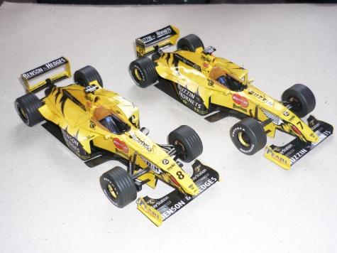 Jordan 199 - H.H.Frentzen - GP Italie 1999