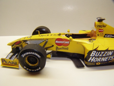 Jordan 199, 1999, D. Hill, GP Belgie