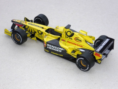 Jordan EJ 11 - Jarno Trulli - 2001