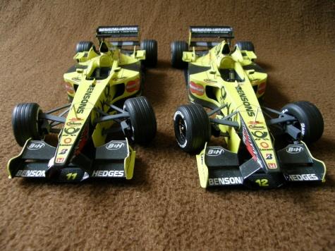 Jordan EJ 11 oba piloti