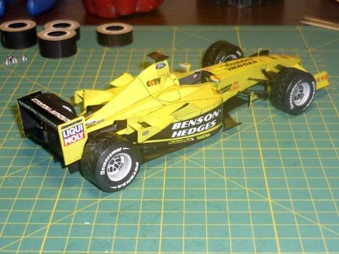 Jordan EJ 13 / FISICHELLA Giancarlo / Brazilie 2003