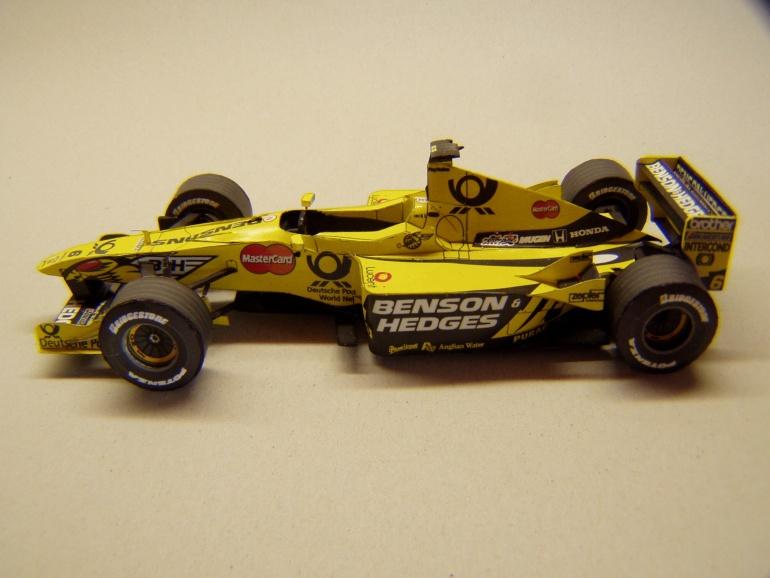 Jordan EJ10, 2000, J. Trulli