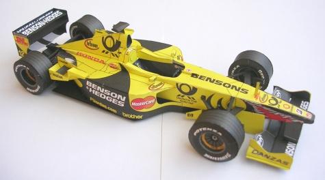 Jordan EJ11, 2001 Heinz-Harald Frentzen