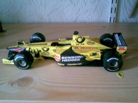 Jordan EJ11, 2001 Jarno Trulli