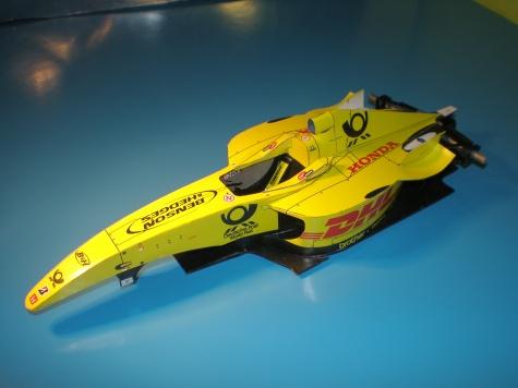 Jordan EJ12 2002  G. Fisichella