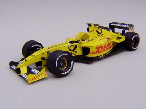 Jordan EJ12, 2002, G. Fisichella