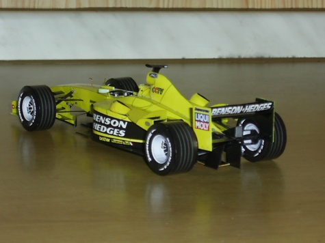 Jordan EJ13 R.Firman-GP Brazílie Interlagos 2003