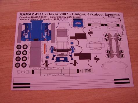 Kamaz Dakar 2007