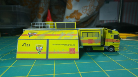 Kamión Golem Pražské záchranné služby