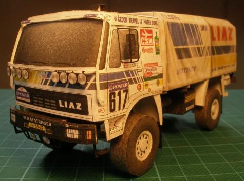 Kamiony z Dakaru - ABC