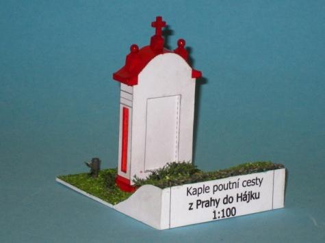 Kaple poutní cesty do  Hájku