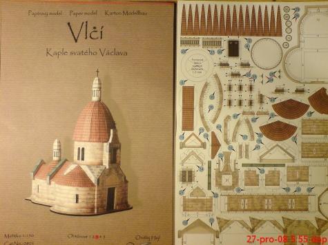 Kaple sv.Václava ve Vlčí