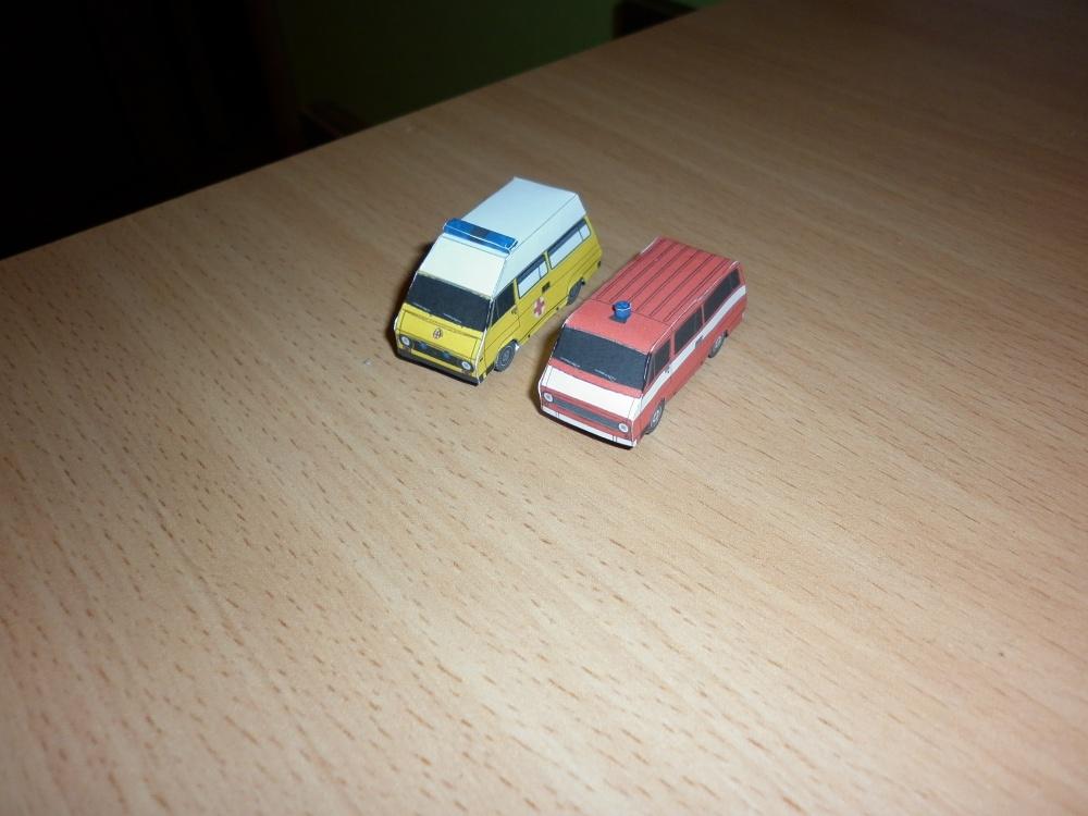 rôzne modely 1:100 väčšinou od FDS