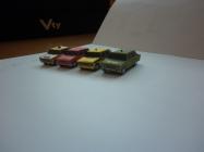 rôzne modely 1:100 väè¹inou od FDS