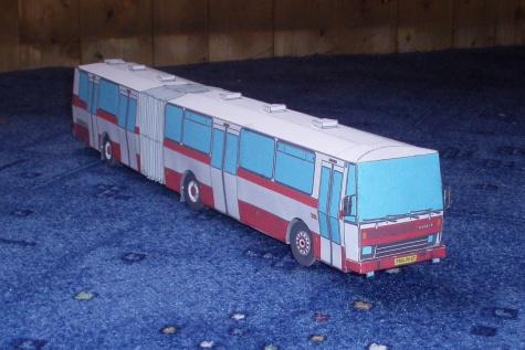 KLOUBOVÝ AUTOBUS KAROSA B 741