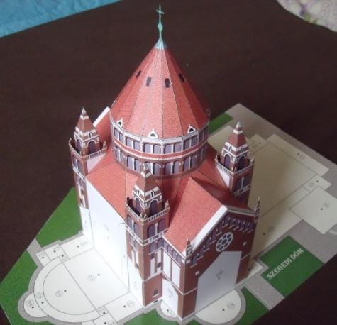 Katedrála v Szegedu, Maďarsko
