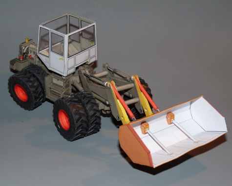 Kloubový traktor Škoda Š-180 BETA